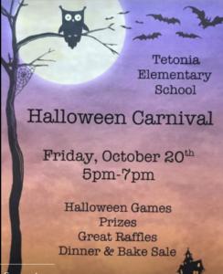 Tetonia Halloween Carnival @ Tetonia Elementary School | Tetonia | Idaho | United States
