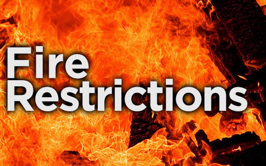 Image result for fire restriction