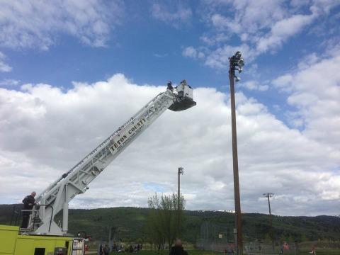 Osprey Rescue in Victor Pioneer Park